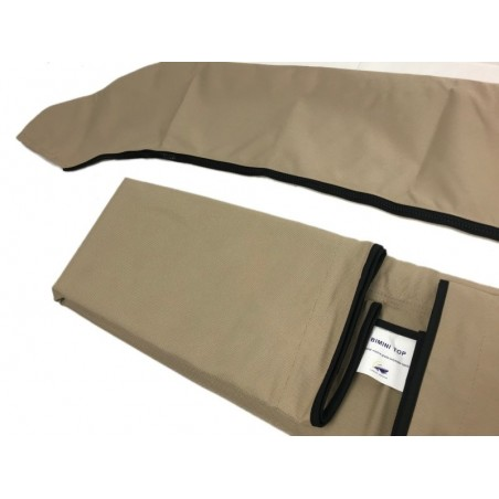 Canvas and storage boot (3 bow)
