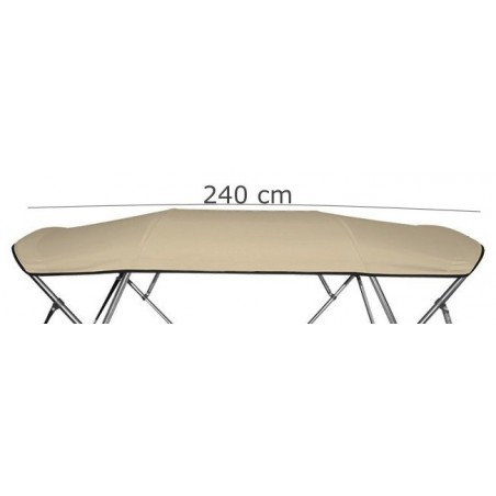 Canvas and storage boot  (4 Bow) Long  240cm